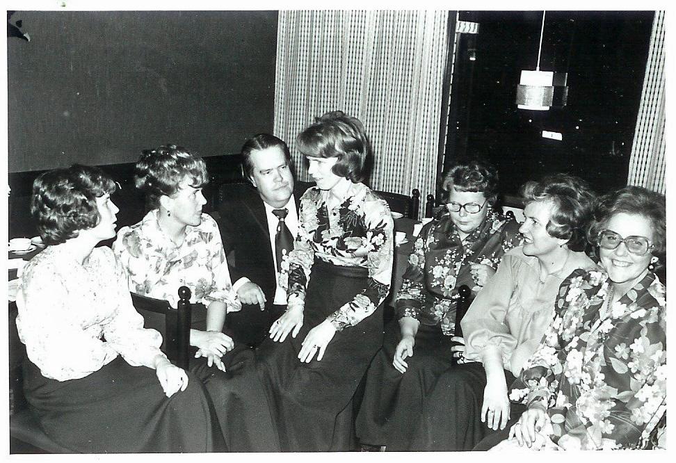 19751025 Jubileumsfest 1 autokorr Nils Selmer m damer