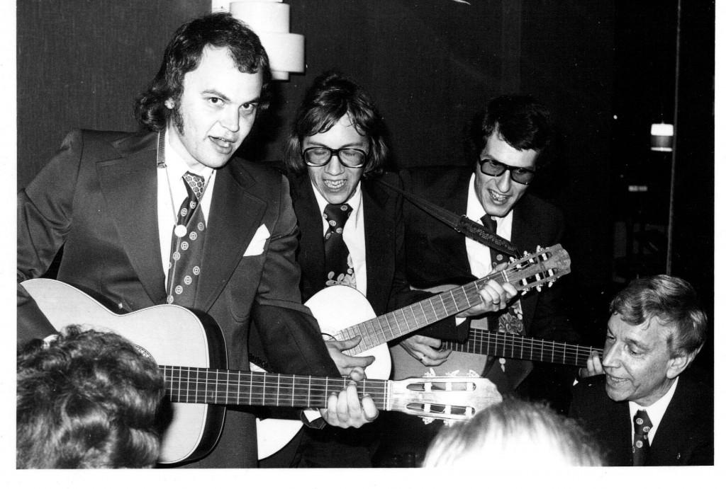 19751025 Jubileumsfest Staffan Putte Inge