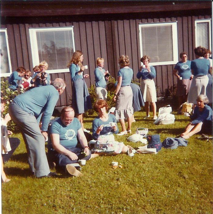 1978-0617 Östersund fika i det gröna