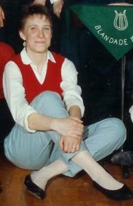 Kyrkokören 1990 Bettan